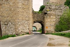 Ancient fortification stock photography