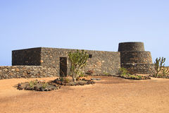 Ancient Fortifications, Fuerteventura Stock Image