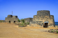 Ancient Fortifications, Fuerteventura Royalty Free Stock Photos