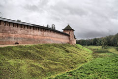 Ancient fortress Stock Image