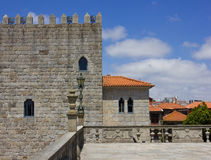 Ancient fortress. Fragment of the Ancient fortress, Porto, Portugal Royalty Free Stock Photos