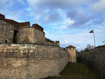 Baba Vida Fortress, Vidin, Bulgaria. Ancient fortress Baba Vida located in Vidin, Bulgaria. January 2018 royalty free stock photography
