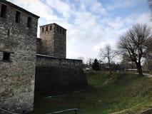 Baba Vida Fortress, Vidin, Bulgaria. Ancient Fortress Baba Vida located in Vidin, Bulgaria. January 2018 stock image