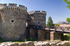 Ancient fortress of Belgrade Royalty Free Stock Photos