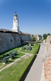 Ancient fortress of Belgrade Royalty Free Stock Images