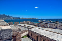 Ancient fortress in Crete Royalty Free Stock Photography