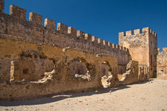 Ancient fortress in Greece Stock Photography
