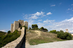 Ancient Fortress On The Hill. Travel Series - Italy. Ancient fortress in the top of a hill in Talamone, Tuscany Royalty Free Stock Photography