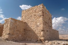 Ancient Fortress In The Desert Royalty Free Stock Photography