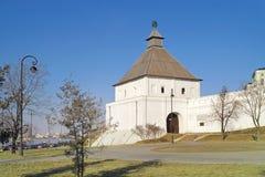 Ancient fortress of the Kazan khanate Royalty Free Stock Photo
