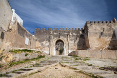 Ancient fortress in Madina. Old part of Tangier Royalty Free Stock Photography