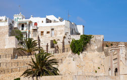 Ancient fortress in Medina. Tangier, Morocco Stock Images