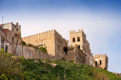 Ancient fortress in Medina of Tangier, Morocco Royalty Free Stock Photos