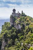 Ancient fortress of Republic San Marino Royalty Free Stock Photo