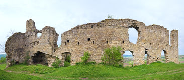 Ancient fortress ruins Royalty Free Stock Photos