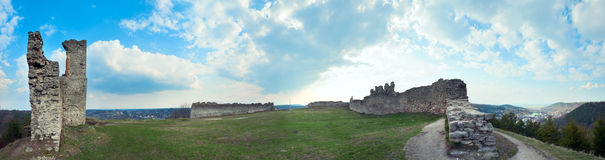 Ancient fortress ruins. Royalty Free Stock Images