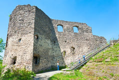 Ancient fortress ruins Stock Photo