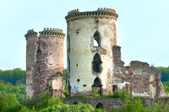 Ancient fortress ruins Stock Images