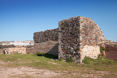 Ancient fortress ruins in Tangier, Morocco Stock Photo