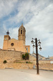 Ancient fortress in Sitges Stock Photo