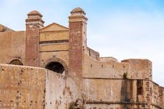 Ancient fortress in Tangier, Morocco Stock Photo
