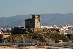 Ancient fortress in Tarifa Stock Photography