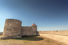 An ancient fortress of the 17th century Royalty Free Stock Photo