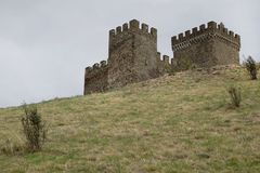 Ancient fortress towers Royalty Free Stock Photos