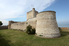 Ancient fortress Vauban in Fouras, France Royalty Free Stock Photo