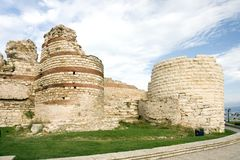 Ancient fortress wall royalty free stock image