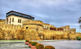 Ancient fortress wall in Baku old town. Azerbaijan Royalty Free Stock Images