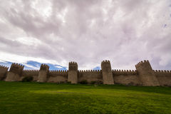 Ancient fortress walls Stock Images