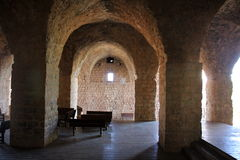 Ancient fortress Yehiam Royalty Free Stock Photography