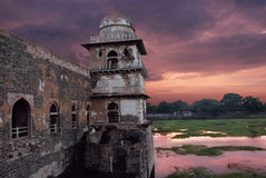 Ancient Forts of India Stock Image