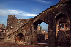 Ancient Forts of India Stock Photo