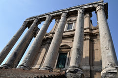 The Ancient Forum, Rome Italy Royalty Free Stock Image