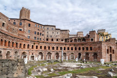 Ancient Forum Structure Royalty Free Stock Photography