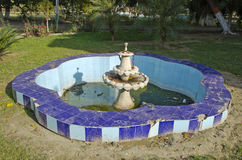 Fountain in Amritsar city garden, India Royalty Free Stock Image