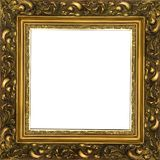 Ancient frame. For a picture Stock Photos