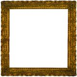 Ancient frame. For a picture Stock Image
