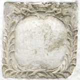 Ancient Frame. Fragment of ancient stucco frame Stock Images
