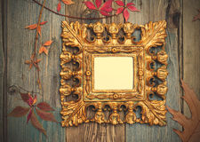 Ancient frame with copy space Royalty Free Stock Images