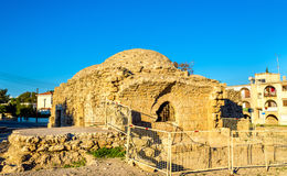 Ancient Frankish Baths in Paphos Royalty Free Stock Photos