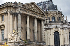 Ancient French building Stock Photography