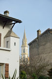 Ancient French town Nerac Stock Photography