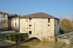 The ancient French town Nerac Royalty Free Stock Photo