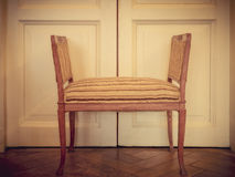 Ancient furniture. Retro toned Royalty Free Stock Images