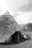 Ancient gaelic thatched dwelling Royalty Free Stock Photo