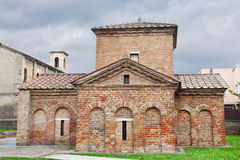 Ancient galla placidia mausoleum in Ravenna Royalty Free Stock Photos