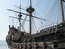 Ancient galleon Stock Photography
